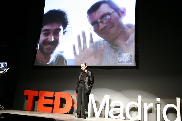 Rob Hopkins y Juan del Río - Tedx Madrid 2012 - Transicion Sostenible