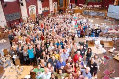 foto de grupo- - Conferencia internacional de transición 2012 - transición sostenible