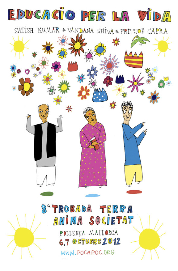 cartel Educació per la VIDA