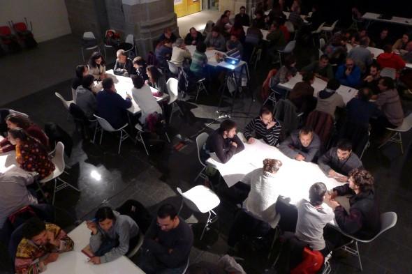 WorldCafé  Salón Bioconstrucción Graus 2012- Transición Sostenible