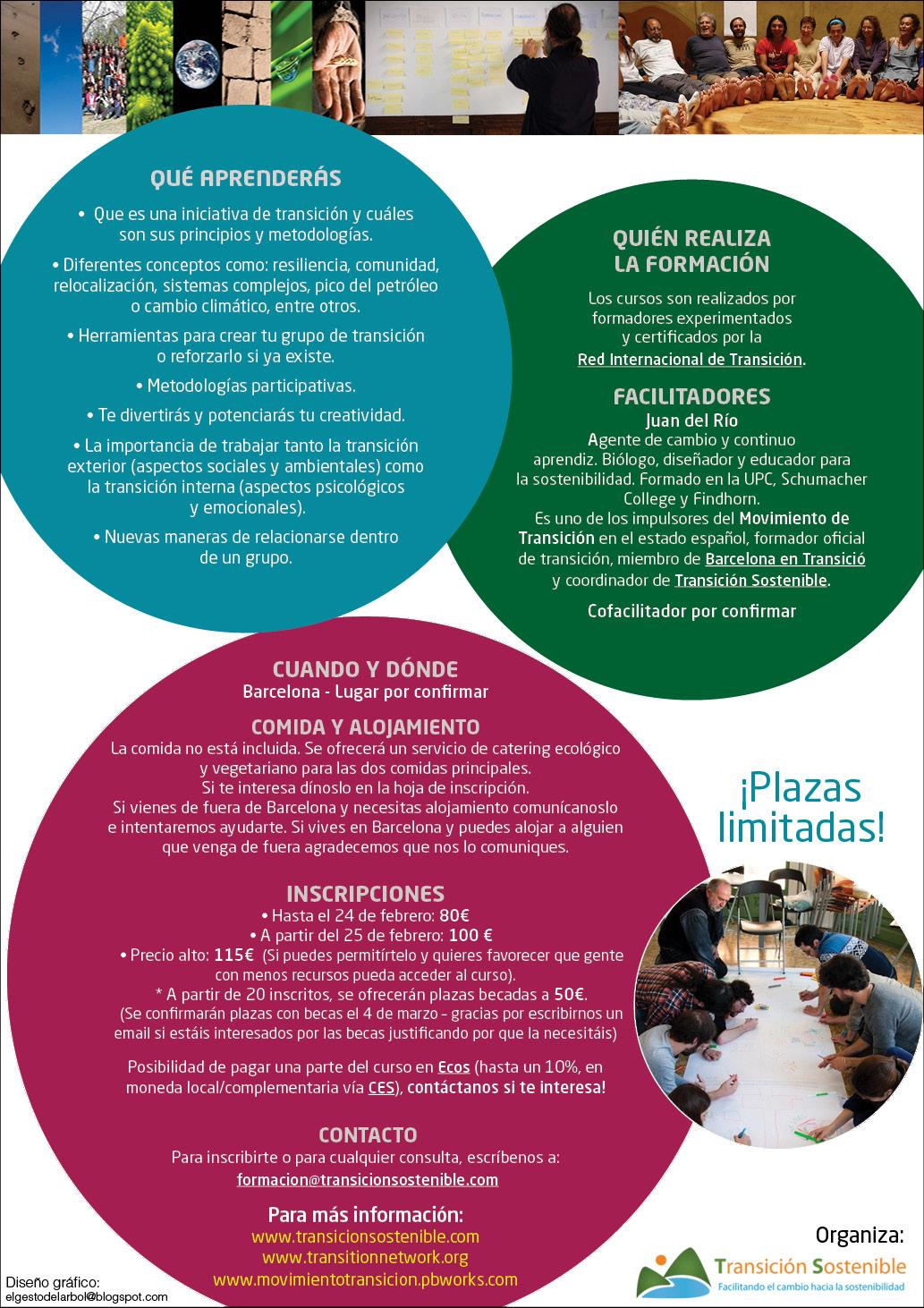 Curso oficial de Transición marzo 2013 Barcelona 2 - Transición Sostenible