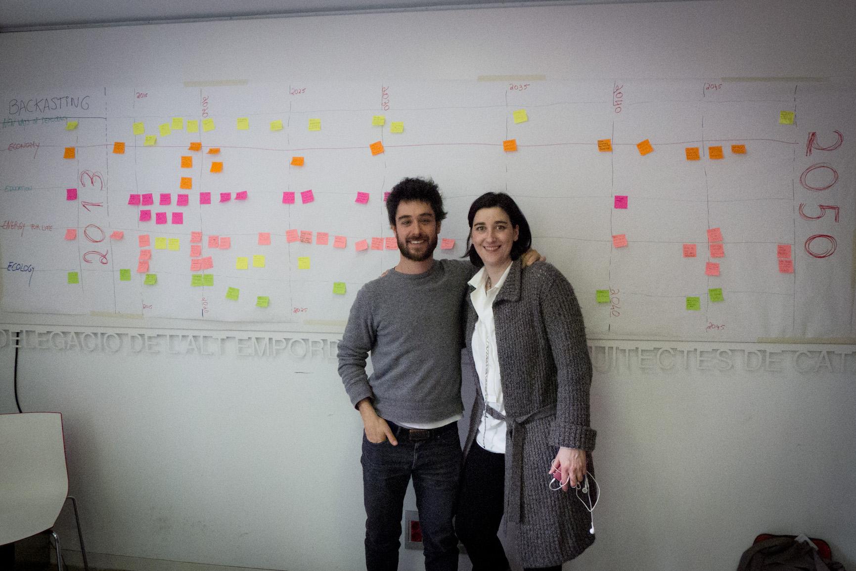 Backcasting workshop Figueres- Filipa Pimentel y Juan del Río - Transición Sostenible