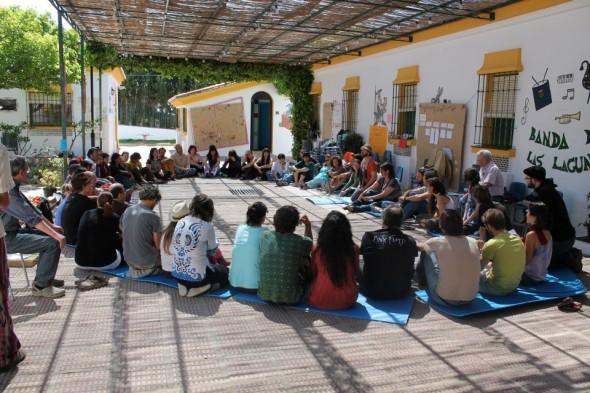 Encuentro movimiento de transición Mijas 2013- 1 - Transición Sostenible