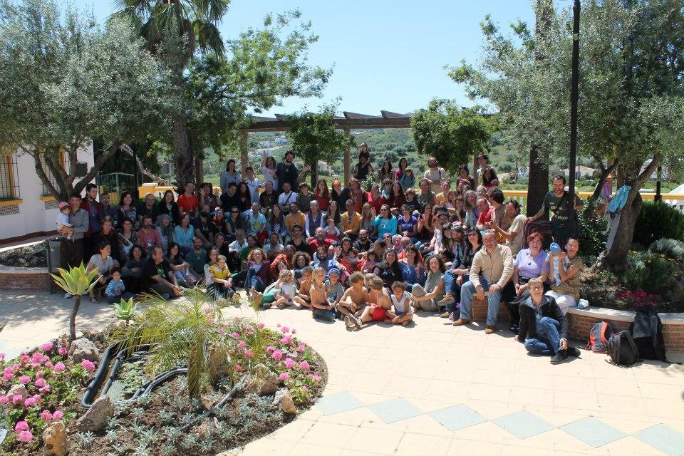 Foto grupo Encuentro movimiento de transición Mijas 2013 - Transición Sostenible