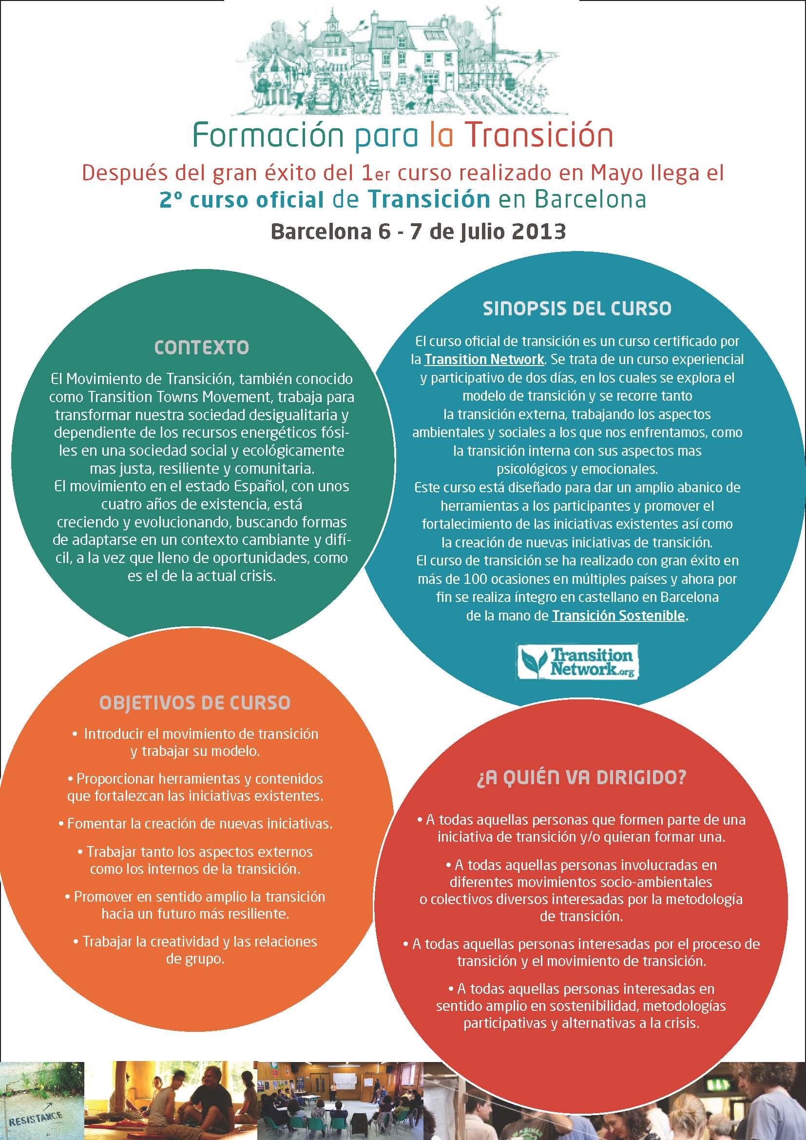Curso Transición Julio 2013 Barcelona_1 - Transición Sostenible