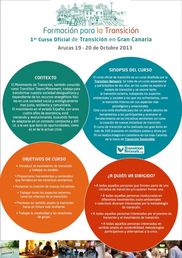 Curso oficial de TransiciónOctubre 2013 GC