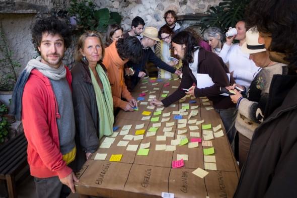 May East y Juan del Río en el Curso de Transición en Son Rullan Mallorca 2013 - Transición Sostenible-