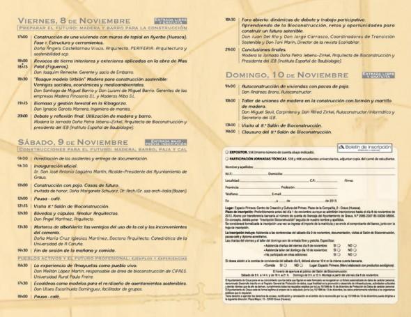 Salón Bioconstrucción Graus 2013 - Transición Sostenible