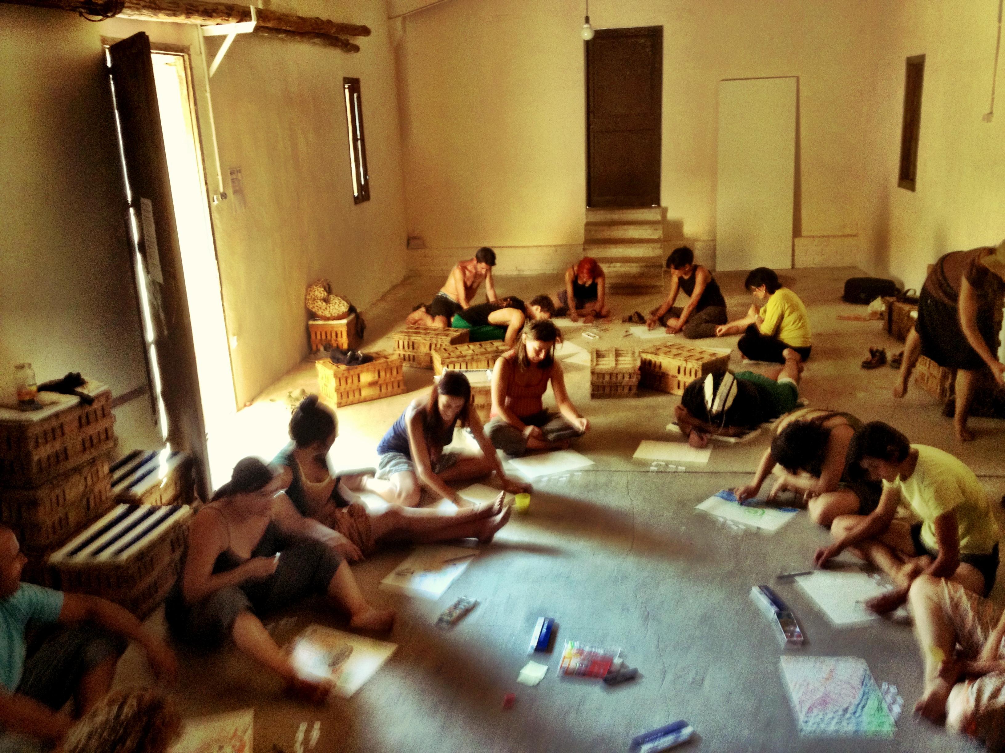 taller creatividad RIE 2013 - Transición Sostenible