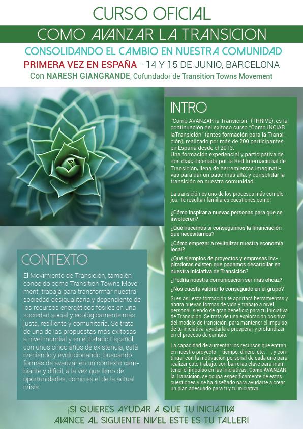 CURSO como avanzar la transición - JUNIO - transición sostenible